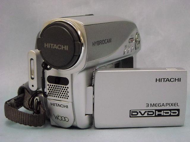 HITACHI DVD/HDDビデオカメラ| ハードオフ西尾店