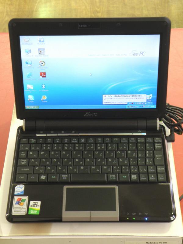 ASUS モバイルPC EEEPC901-BK010X| ハードオフ安城店