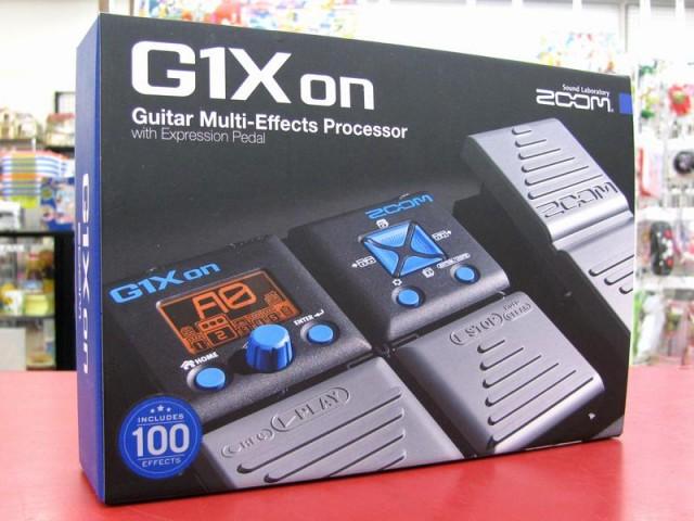 ZOOM マルチエフェクター G1X on| ハードオフ三河安城店