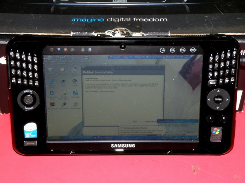 SAMSUNG UMPC NP-Q1U/P01/SEA| ハードオフ安城店