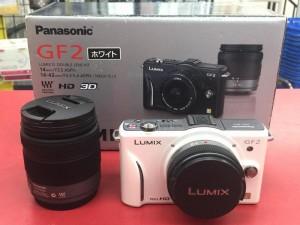 Panasonic ミラーレス一眼カメラ DMC-GF2W-W| ハードオフ豊田上郷店