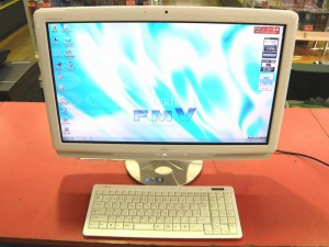 FUJITSU 一体型パソコン FMVFG90DWG| ハードオフ安城店
