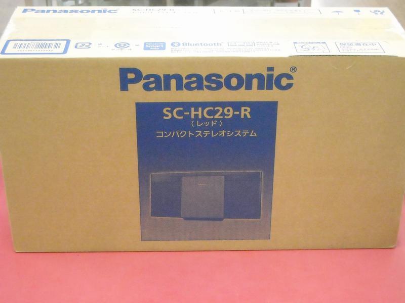 Panasonic コンパクトステレオ SC-HC29| ハードオフ西尾店