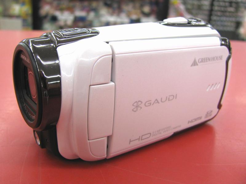 GAUDI ビデオカメラ GHV-DV30HDAW| ハードオフ三河安城店