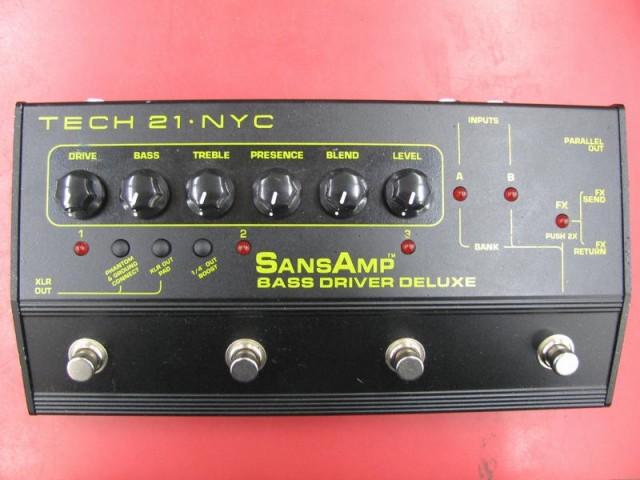 TECH21 プリアンプ Bass Driver Deluxe| ハードオフ三河安城店