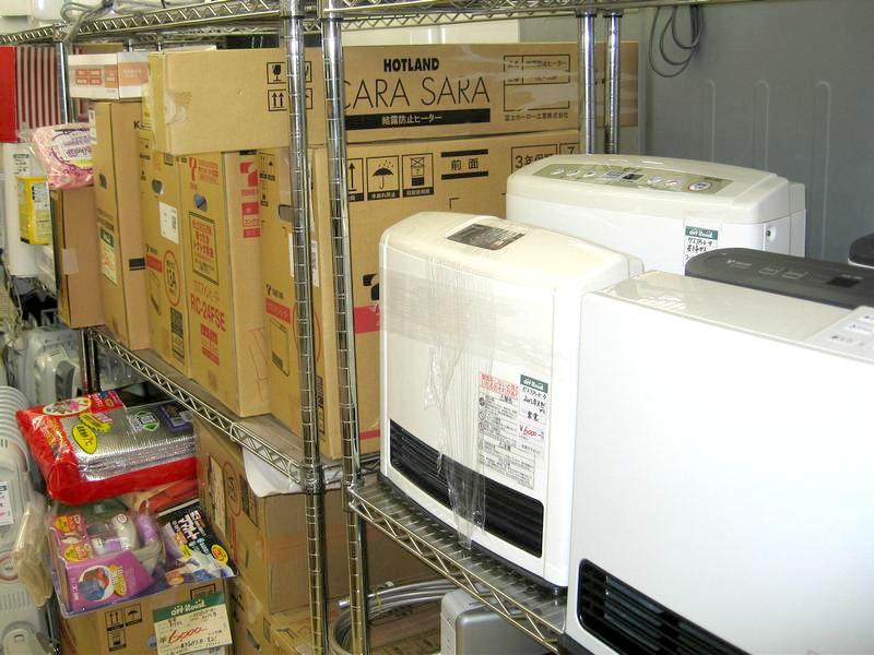 暖房器具多数販売中!  オフハウス三河安城店