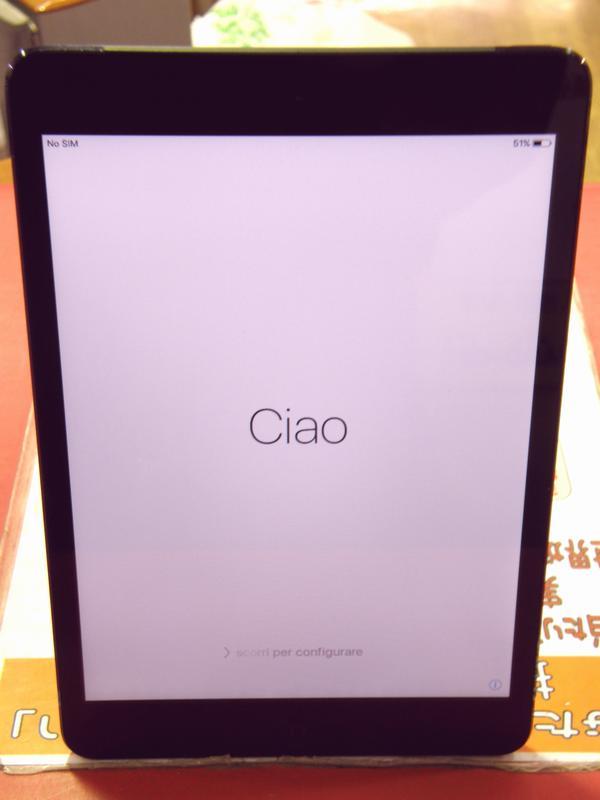 Apple au iPad mini 16GB MD540J/A  ハードオフ安城店
