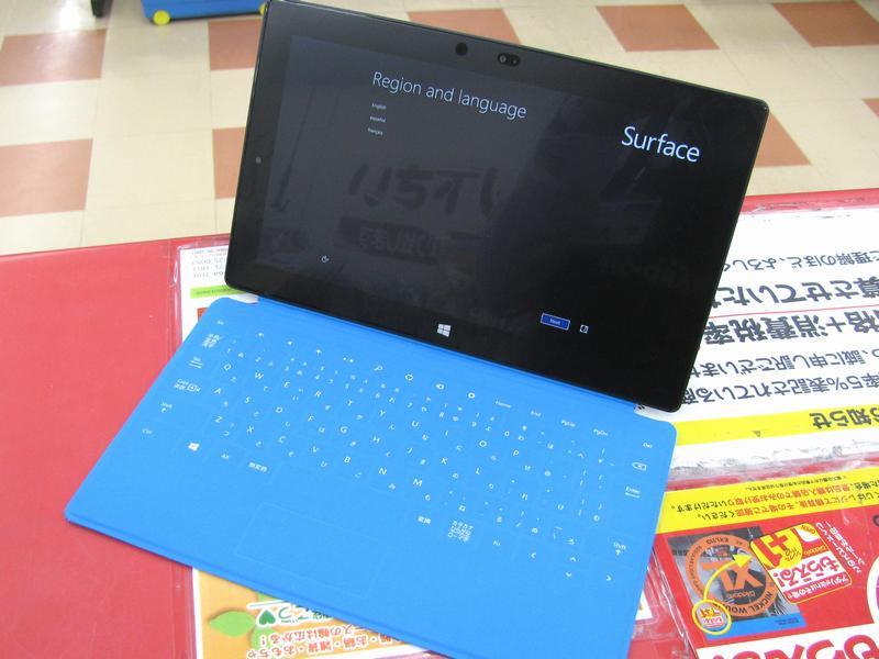Microsoft Surface 64GB入荷しました。| ハードオフ三河安城店