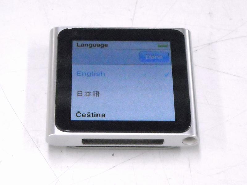 Apple iPod nano 8GB MC525J/A| ハードオフ西尾店