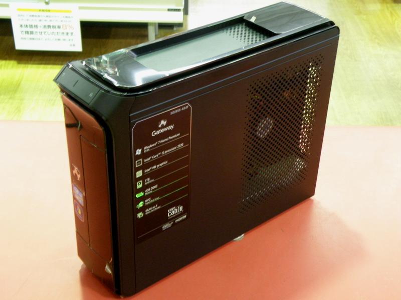 Gateway デスクトップパソコン SX2855-A54F| ハードオフ安城店
