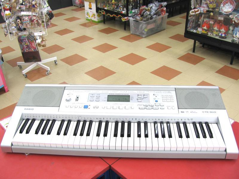 CASIO キーボード CTK-810| ハードオフ三河安城店