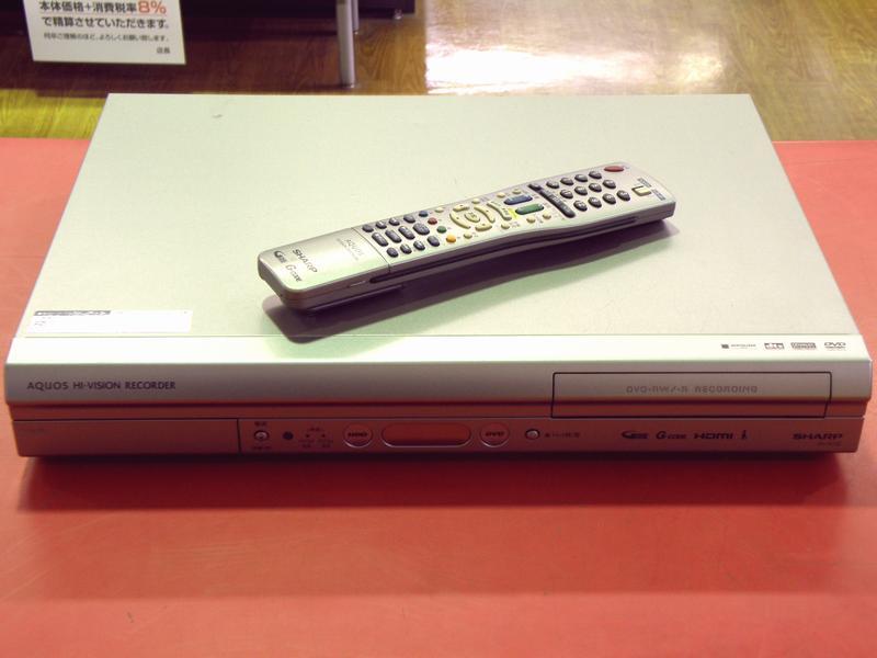 SHARP HDD/DVDレコーダー DV-AC32  ハードオフ安城店