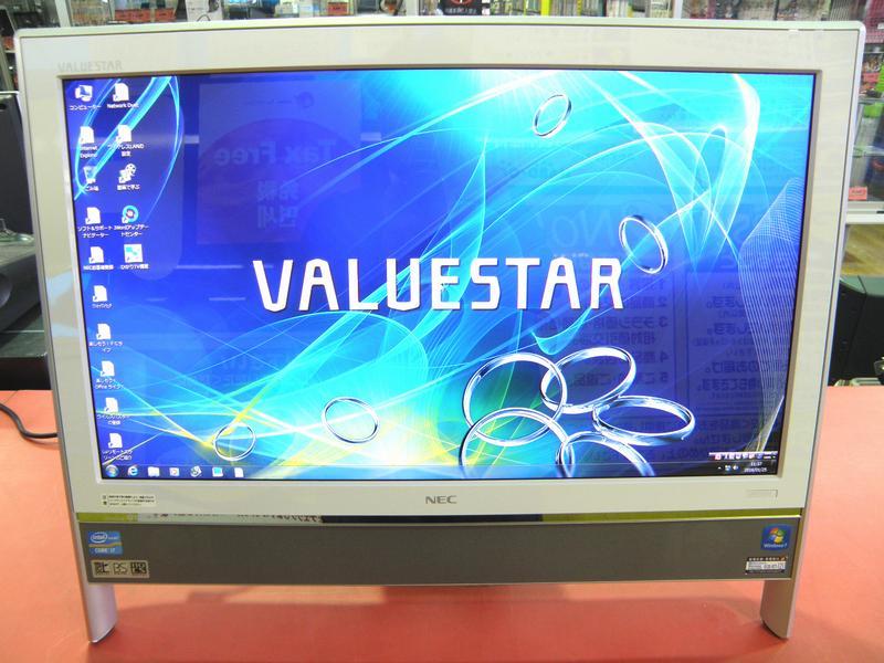 NEC デスクトップパソコン PC-VN770GS6W  ハードオフ安城店