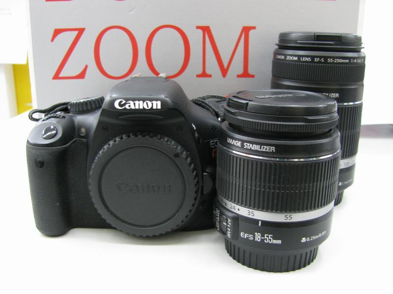 Canon EOS Kiss X4ダブルズームキット  ハードオフ三河安城店