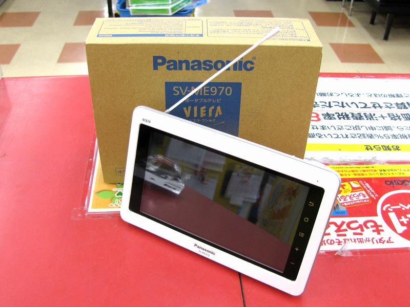 Panasonic ポータブルテレビ SV-ME970  ハードオフ三河安城店