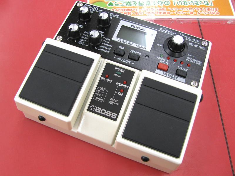 BOSS エフェクター DD-20| ハードオフ三河安城店