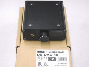 KORG ヘッドホンアンプ DS-DAC-10| ハードオフ西尾店