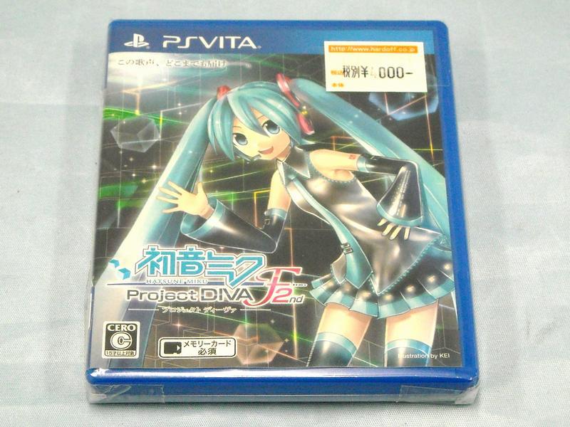 PS Vita 初音ミク Project DIVA F2nd  ハードオフ西尾店