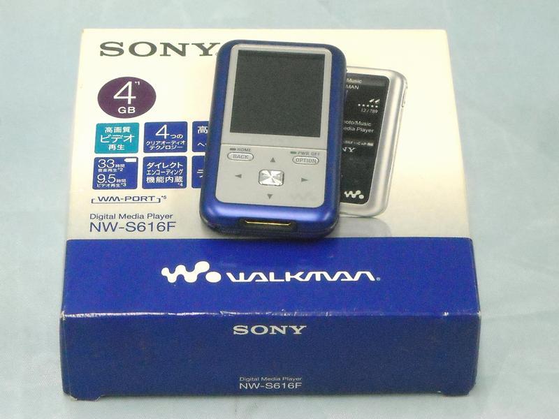 SONY ウォークマン 4GB NW-S616F  ハードオフ西尾店