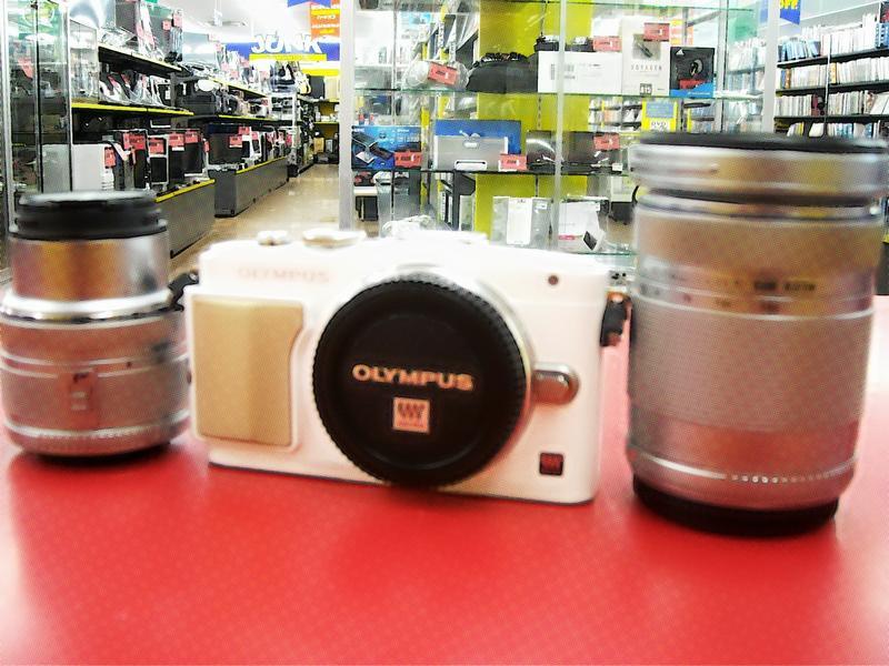 OLYMPUS ミラーレス一眼カメラ E-PL5| ハードオフ西尾店