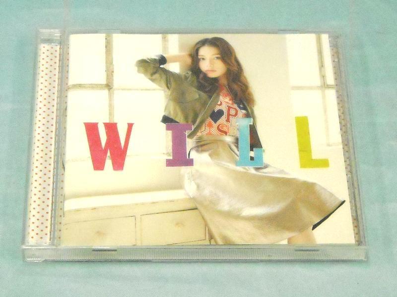 安田レイ 1stアルバム「WILL」  ハードオフ西尾店