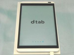 DOCOMO タブレット dtab d-01G| ハードオフ西尾店