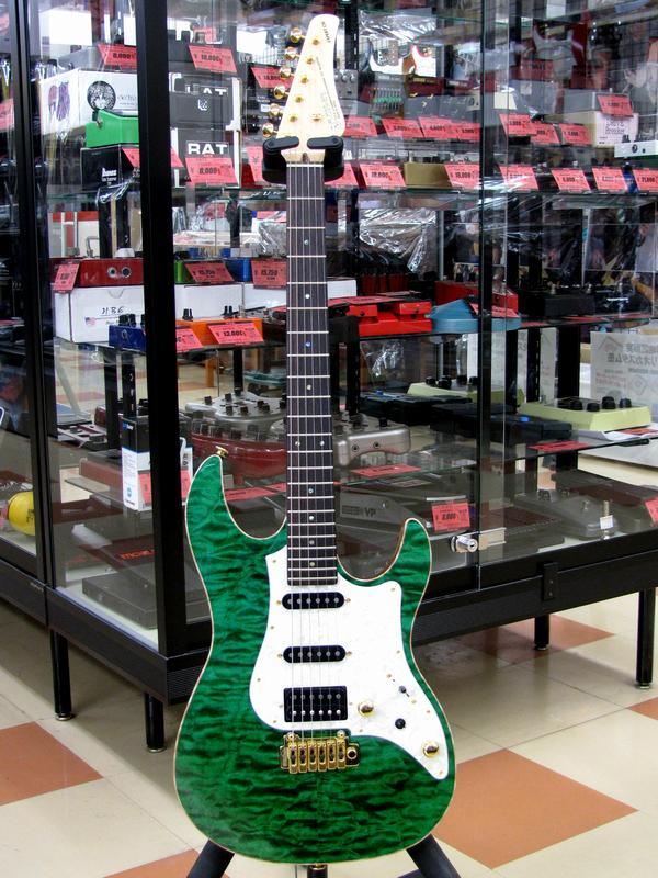 FUJIGEN エレキギター EXPERT OS/QM| ハードオフ三河安城店