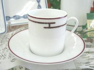 HERMES リズムレッド カップ&ソーサー| オフハウス三河安城店