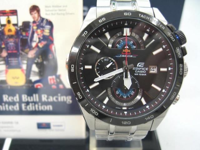 EDIFICE クロノグラフ 腕時計 EFR-520RB  オフハウス三河安城店