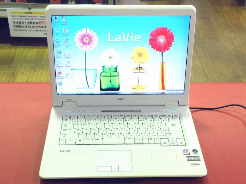 NEC ノートパソコン PC-LL750SG| ハードオフ安城店