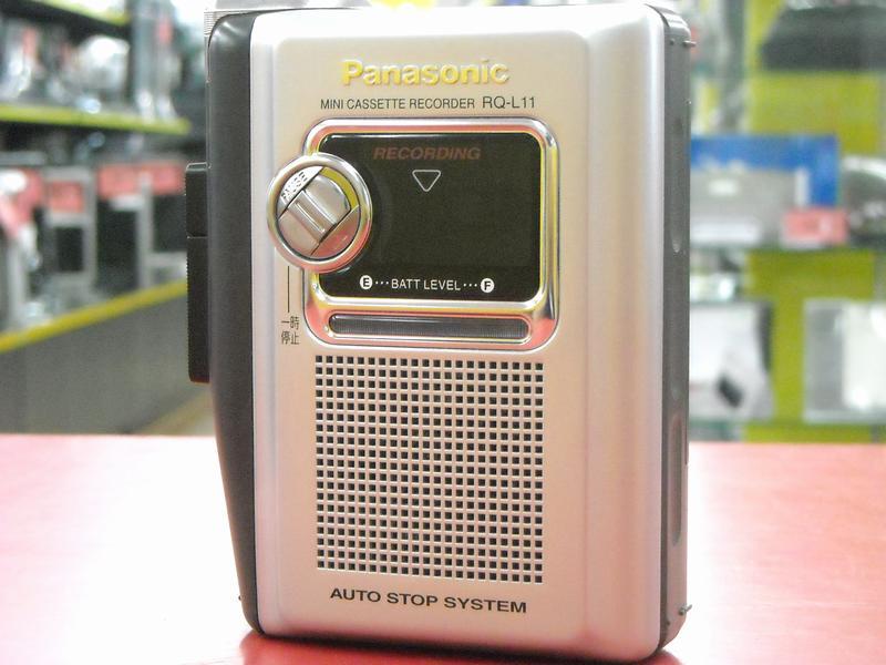 Panasonic カセットレコーダー RQ-L11| ハードオフ西尾店