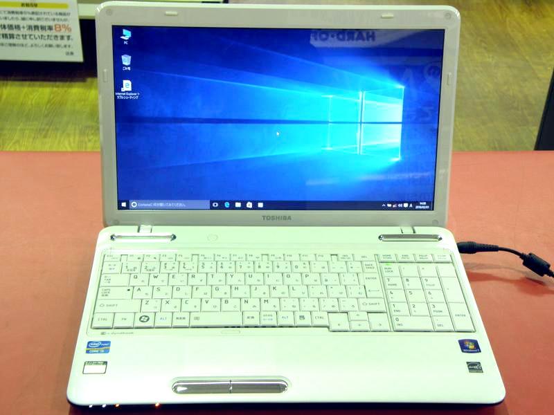 東芝 ノートパソコン dynabook PT35157CAFWS3| ハードオフ安城店