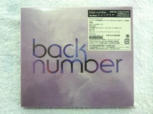 CD back number シャンデリア(初回限定盤A)| ハードオフ安城店