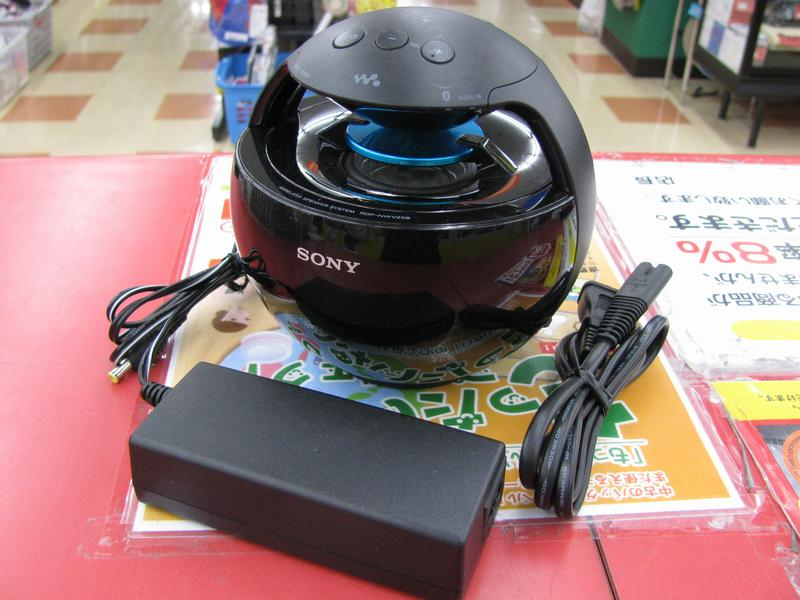 SONY 球体型スピーカー RDP-NWV25B| ハードオフ三河安城店