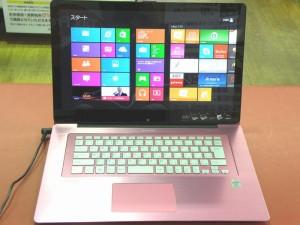 SONY ノートパソコン VAIO Fit SVF15N18DJP| ハードオフ安城店