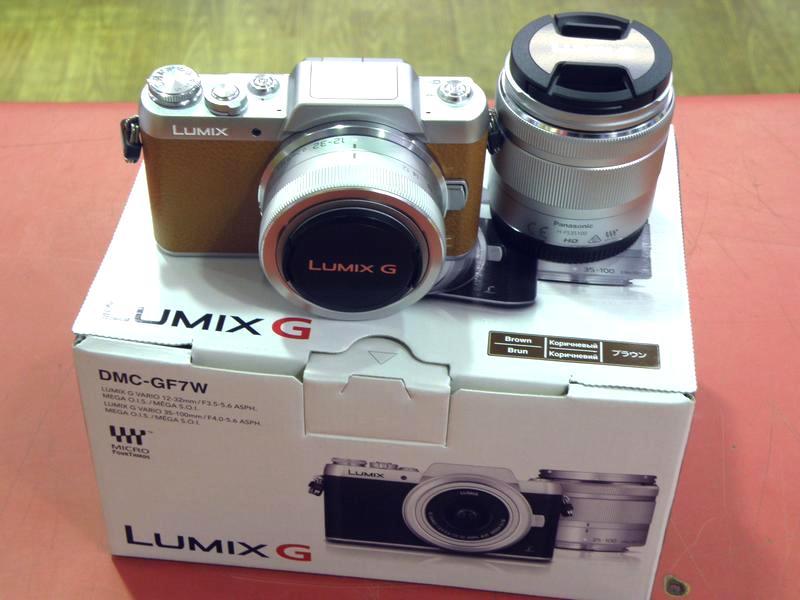 Panasonic ミラーレス一眼カメラ DMC-GF7W| ハードオフ安城店
