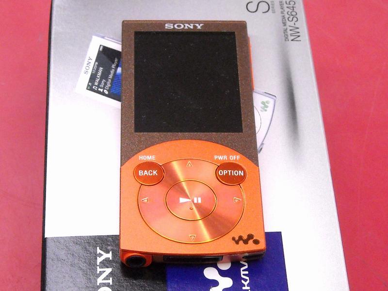 SONY ウォークマン NW-S645 16GB| ハードオフ西尾店