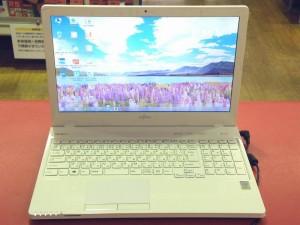 富士通 ノートパソコン LIFEBOOK FMVA53UWG| ハードオフ安城店