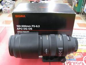 SIGMA APO150-500 F5-6.3DG OS HSM| ハードオフ三河安城店