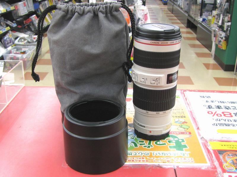 Canon レンズ EF 70-200mm 4L IS USM  ハードオフ三河安城店