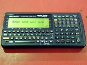 SHARP ポケットコンピューター PC-G850V| ハードオフ安城店