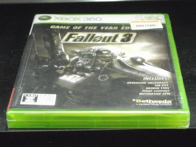 XBOX360 Fallout 3 Game of the Year Edition| ハードオフ西尾店