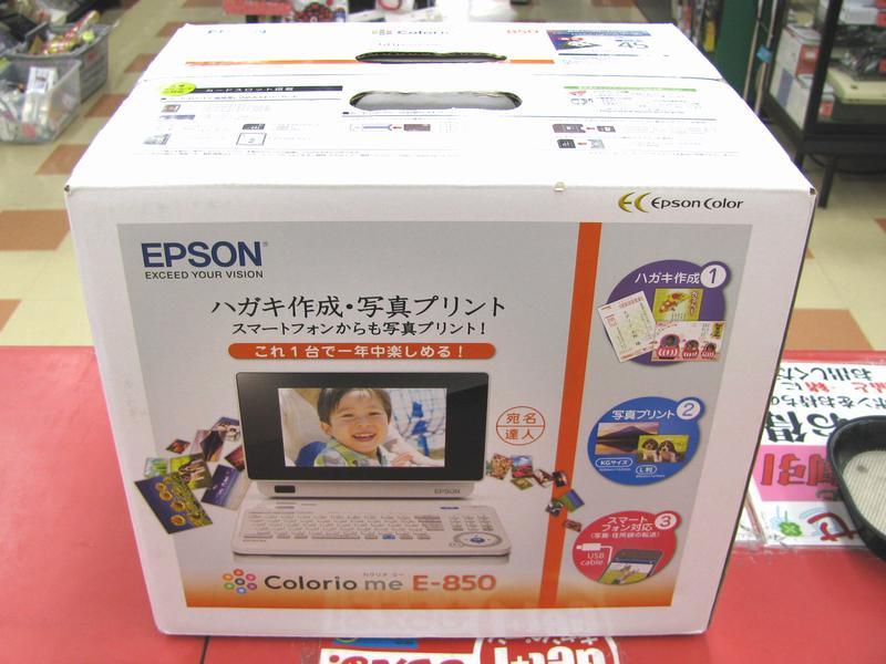 EPSON フォトプリンター E-850| ハードオフ三河安城店
