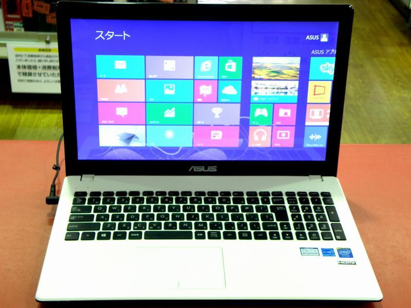 ASUS ノートパソコン X551MA-SX132H| ハードオフ安城店