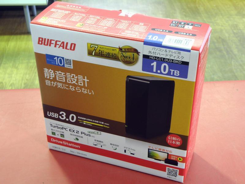 BUFFALO 外付けHDD HD-LC1.0U3-BKD| ハードオフ安城店