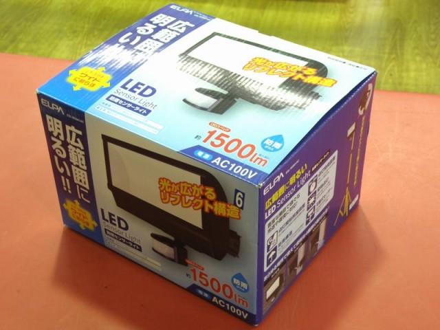 ELPA LED防雨センサーライト ESL-W2801AC| ハードオフ安城店