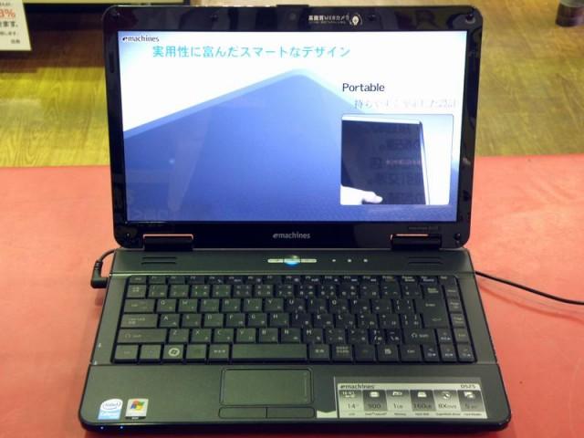 eMachines ノートパソコン D525-BC01F  ハードオフ安城店