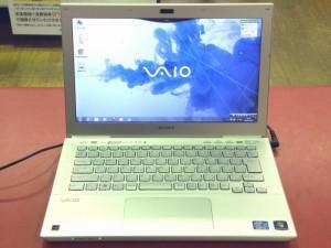 SONY ノートパソコン VAIO SVS13118FJS| ハードオフ安城店