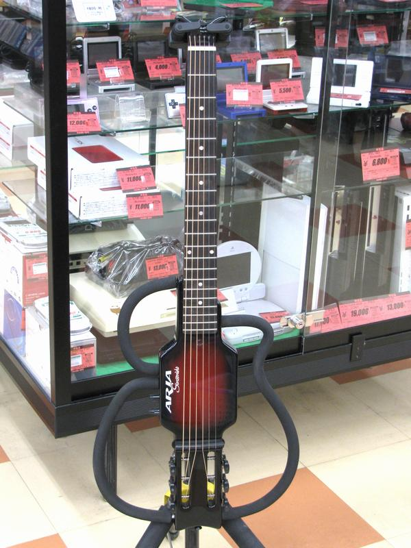 ARIA サイレントギター AS-101S LTD RBS| ハードオフ三河安城店