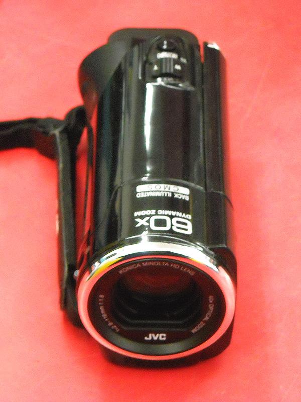 JVC デジタルビデオカメラ GZ-E241-B| ハードオフ西尾店